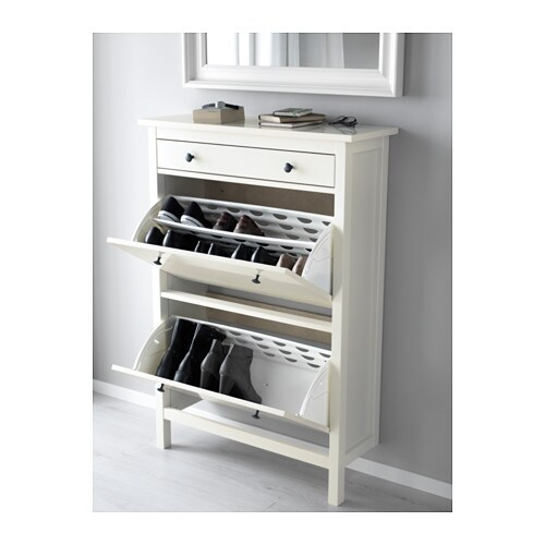 Lovely IKEA HEMNES Shoe Cabinet With 2 Compartments
