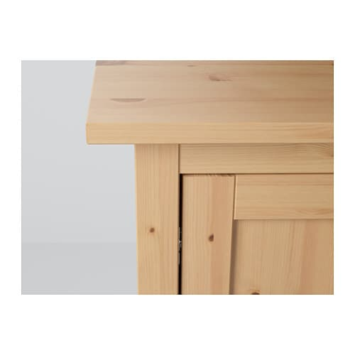 hemnes sideboard light brown 157x88 cm ikea. Black Bedroom Furniture Sets. Home Design Ideas