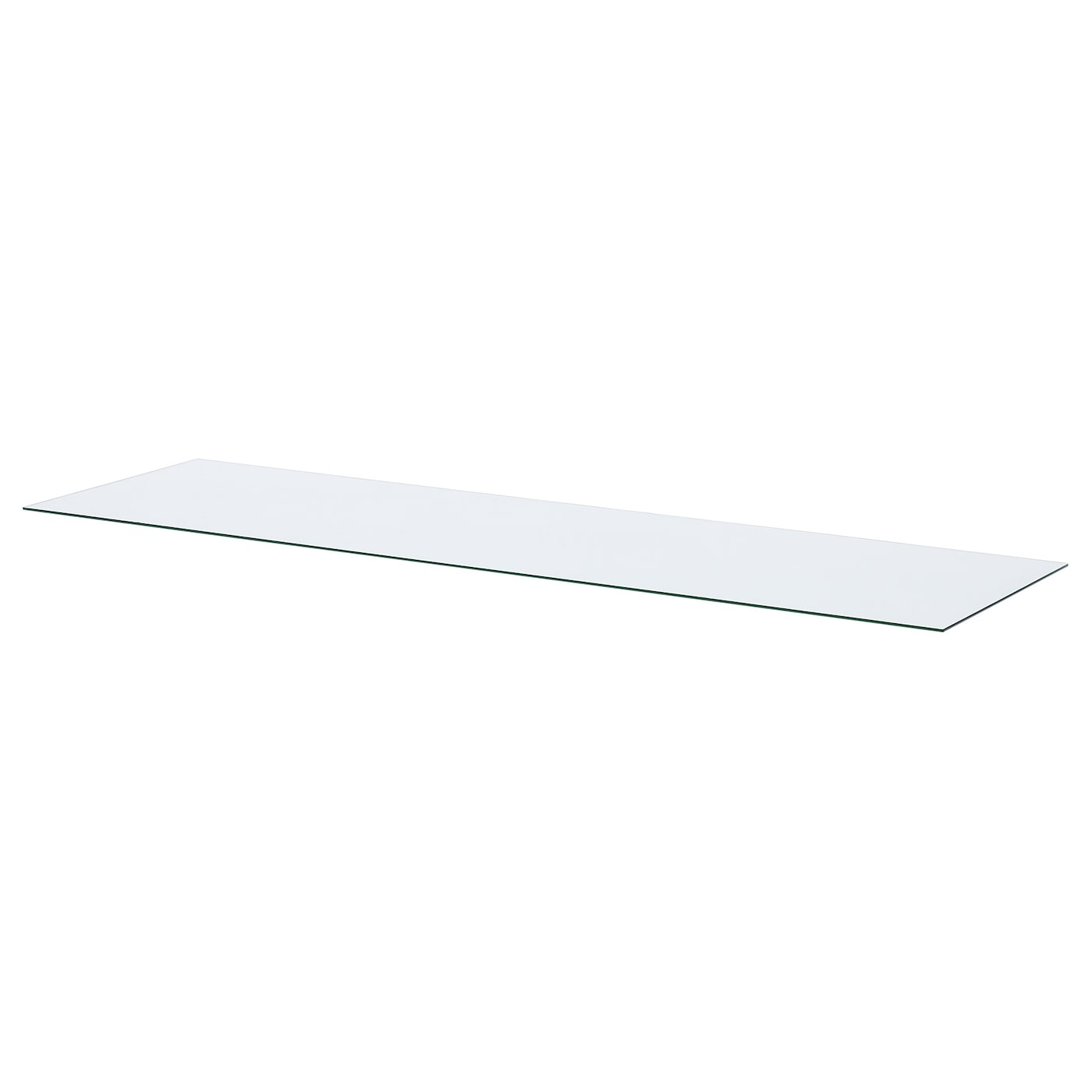 IKEA HEMNES top panel for TV Made of tempered glass that is both hardwearing and durable.