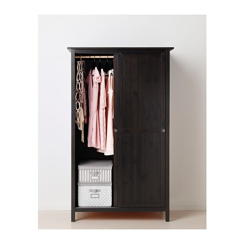 IKEA HEMNES Wardrobe With 2 Sliding Doors