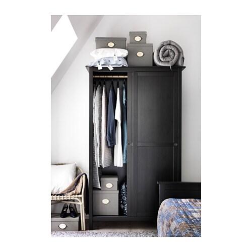 Ikea hemnes wardrobe with 2 sliding doors - Sliding door wardrobes for small spaces image ...