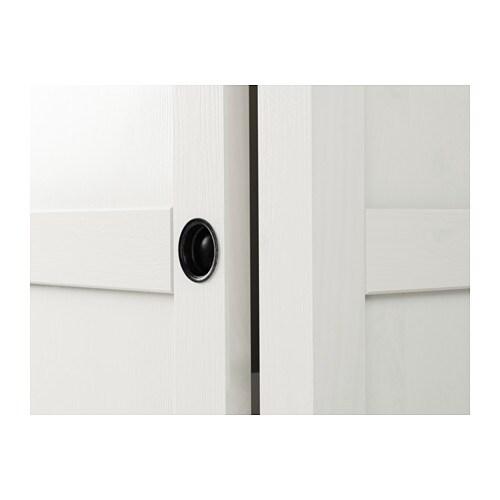 hemnes wardrobe with 2 sliding doors white stain 120x197 cm ikea