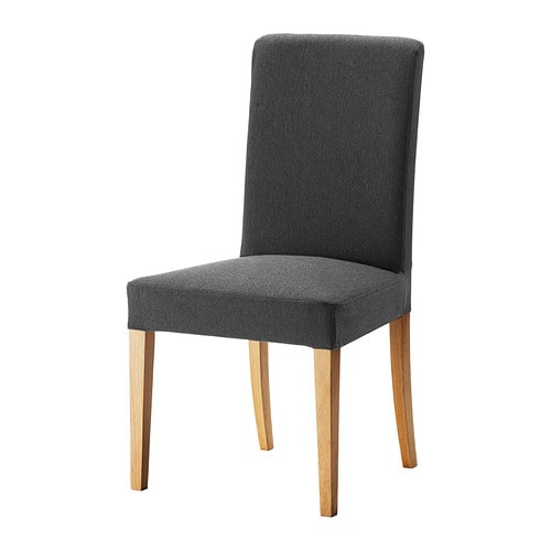 IKEA HENRIKSDAL chair You sit comfortably thanks to the high back and seat with polyester wadding.