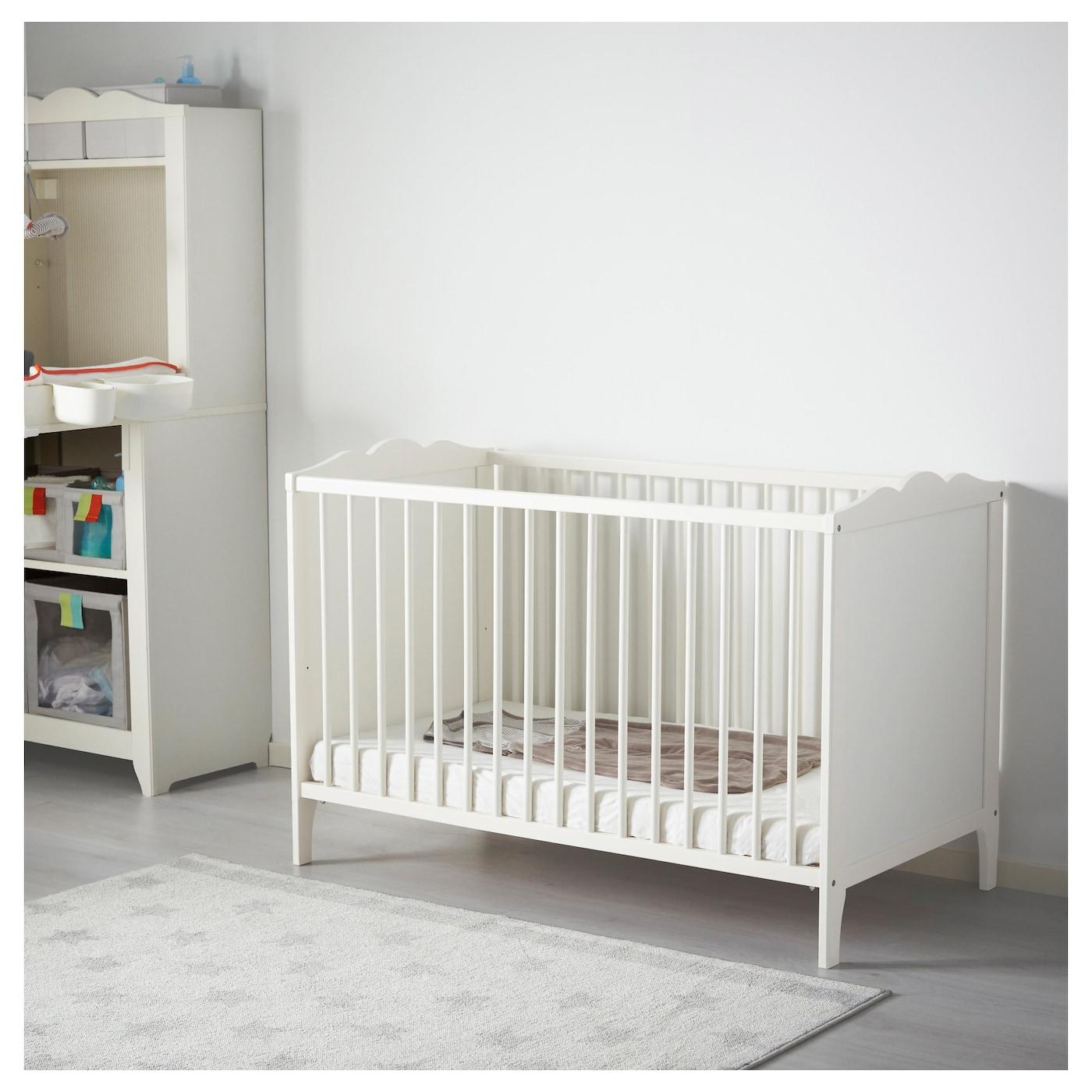 hensvik cot white 60x120 cm ikea. Black Bedroom Furniture Sets. Home Design Ideas