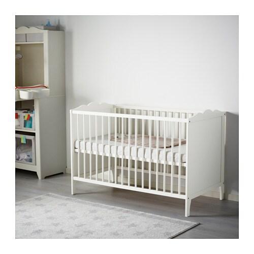 Hensvik cot white 60x120 cm ikea for Ikea lettini