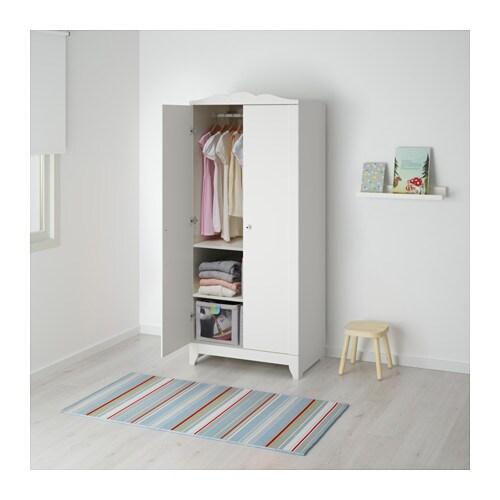 hensvik wardrobe white 75x174 cm ikea. Black Bedroom Furniture Sets. Home Design Ideas