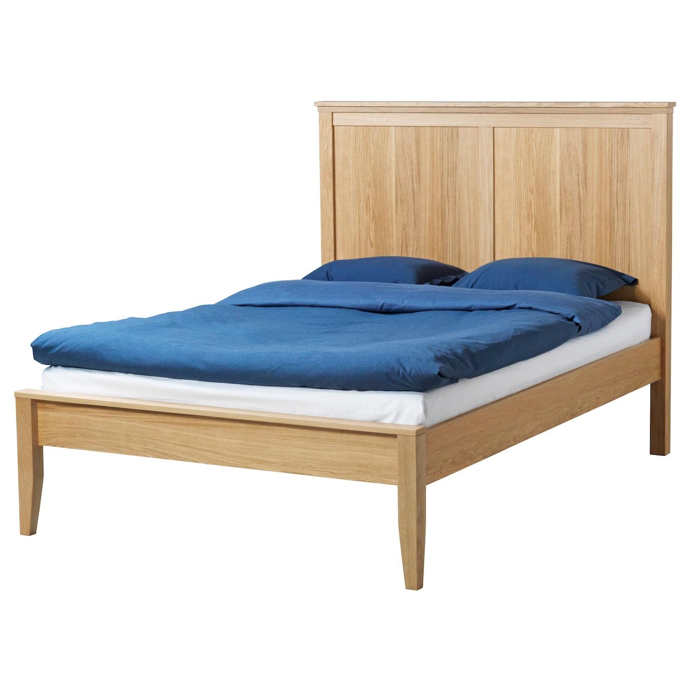 herefoss bed frame oaklury standard king ikea - Ikea King Size Bed Frame