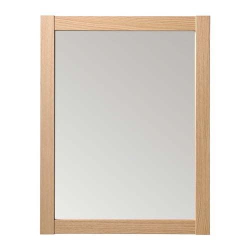 IKEA HEREFOSS mirror Can be hung horizontally or vertically.
