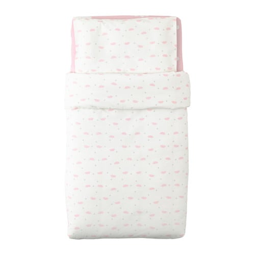 IKEA HIMMELSK 3-piece bedlinen set for cot