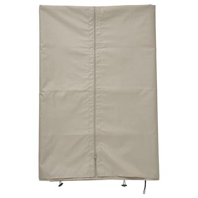 HIMMELSÖ Curtain for gazebo, grey-beige