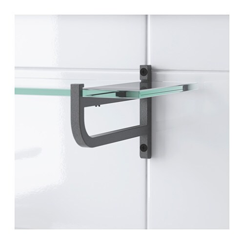 Ikea Grundtal Glass Bathroom Shelf ~ Glass shelf HJÄLMAREN