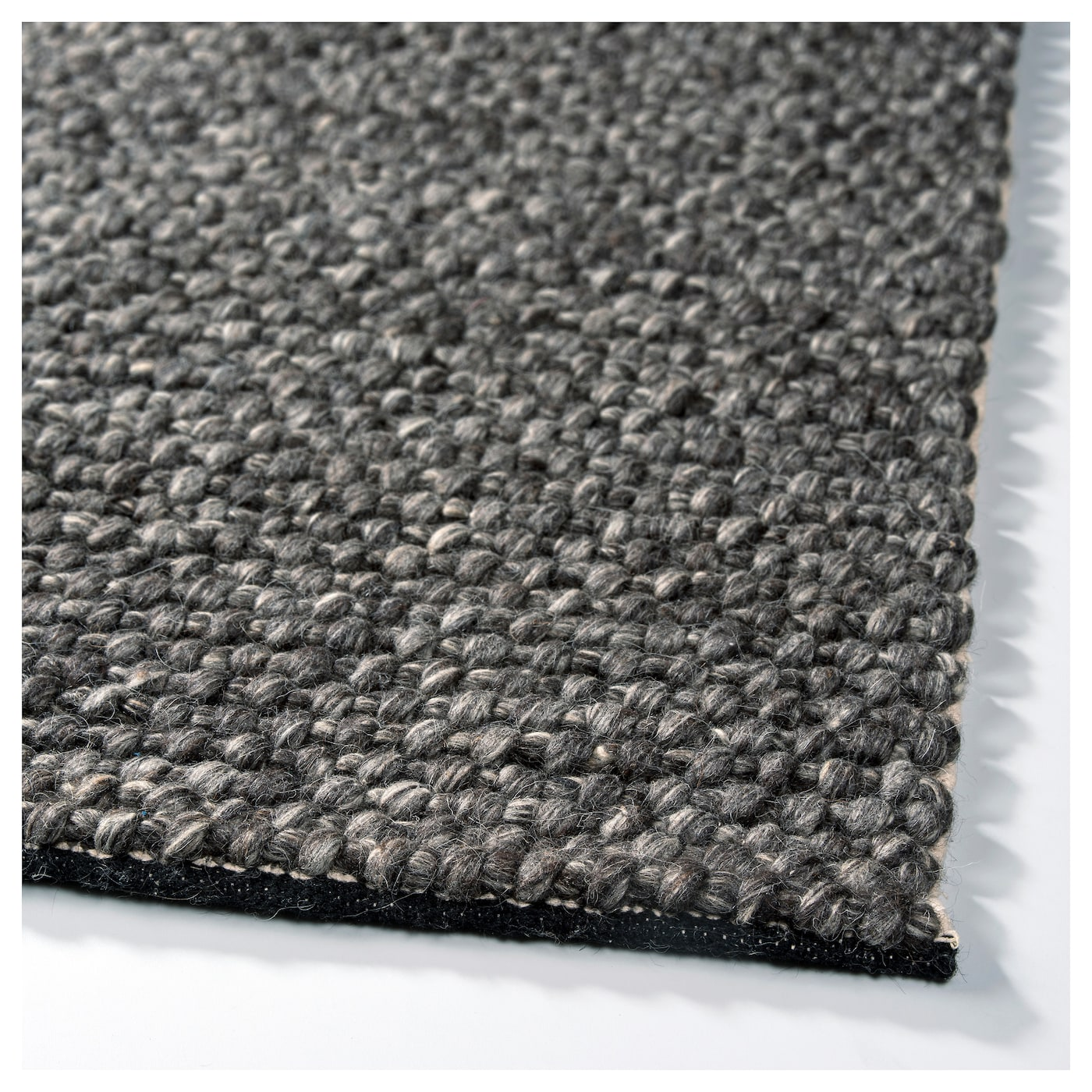IKEA HJORTHEDE rug Handwoven by skilled craftspeople, and therefore unique.