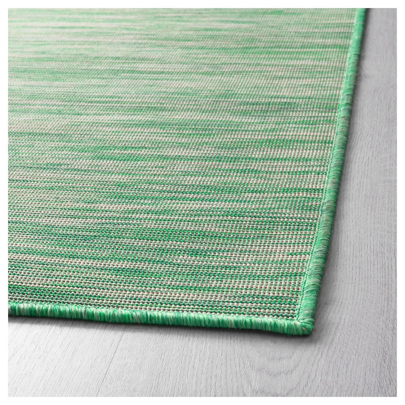 HODDE Rug, Flatwoven In/outdoor Green 160x230 Cm