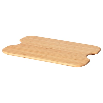 HÖGSMA Chopping board, bamboo, 35x24 cm