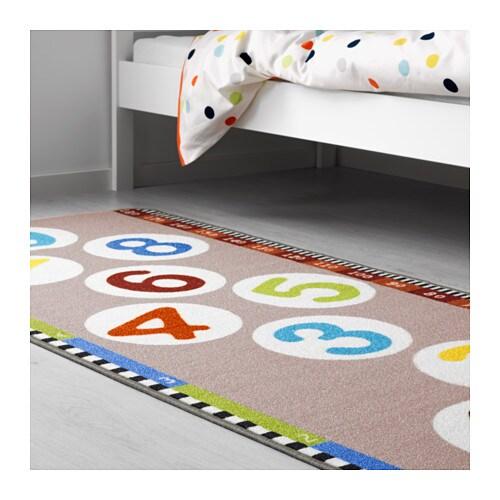 hopplek rug low pile multicolour 80x180 cm ikea. Black Bedroom Furniture Sets. Home Design Ideas