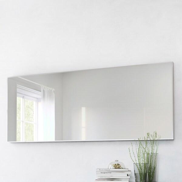 HOVET Mirror, aluminium, 78x196 cm