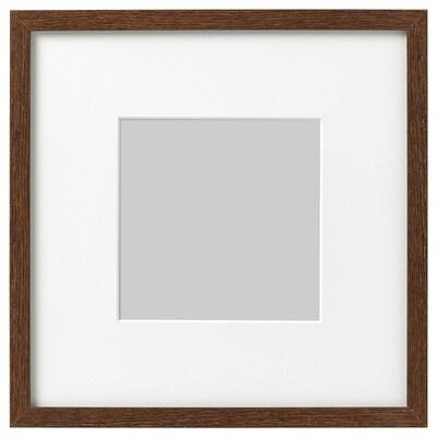 HOVSTA frame medium brown 23 cm 23 cm 13 cm 13 cm 12 cm 12 cm 25 cm 25 cm
