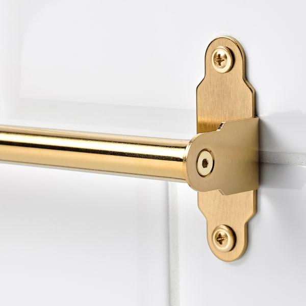 HULTARP Rail, polished/brass-colour, 60 cm