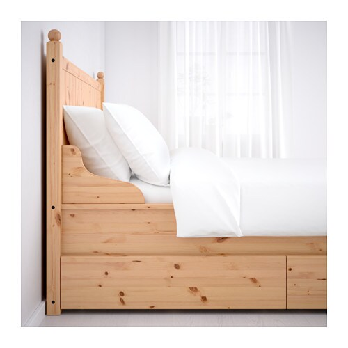 ikea trysil double bed frame. Black Bedroom Furniture Sets. Home Design Ideas