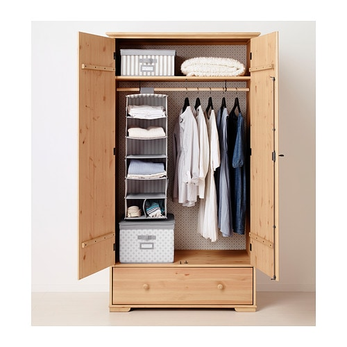 Ideas For Ikea Pax Wardrobe ~ IKEA HURDAL wardrobe Plenty of room for your things in the large