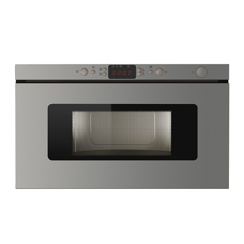 HUSHÅLLA Microwave oven IKEA 5 year guarantee.   Read about the terms in the guarantee brochure.
