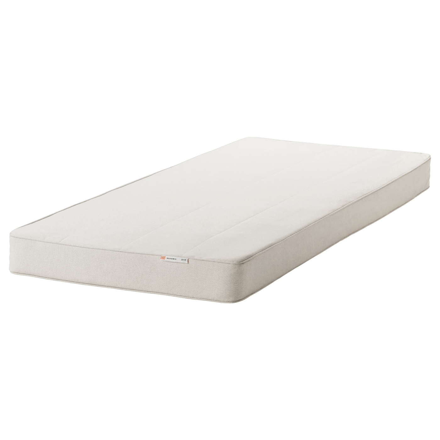 IKEA HUSVIKA sprung mattress Easy to bring home since the mattress is roll packed.