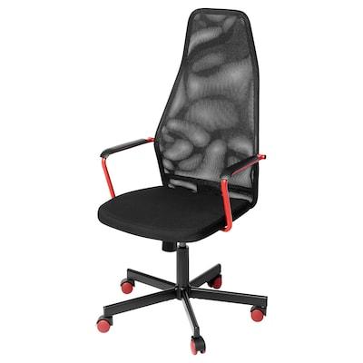 HUVUDSPELARE Gaming chair, black