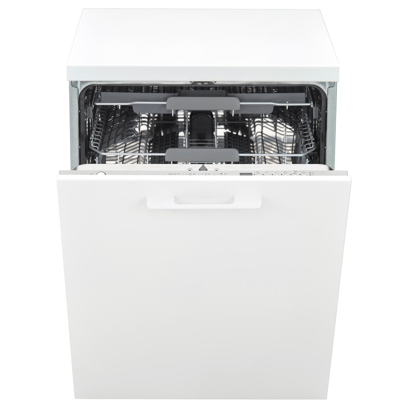 IKEA HYGIENISK integrated dishwasher A muffled sound signal indicates when a program is finished.