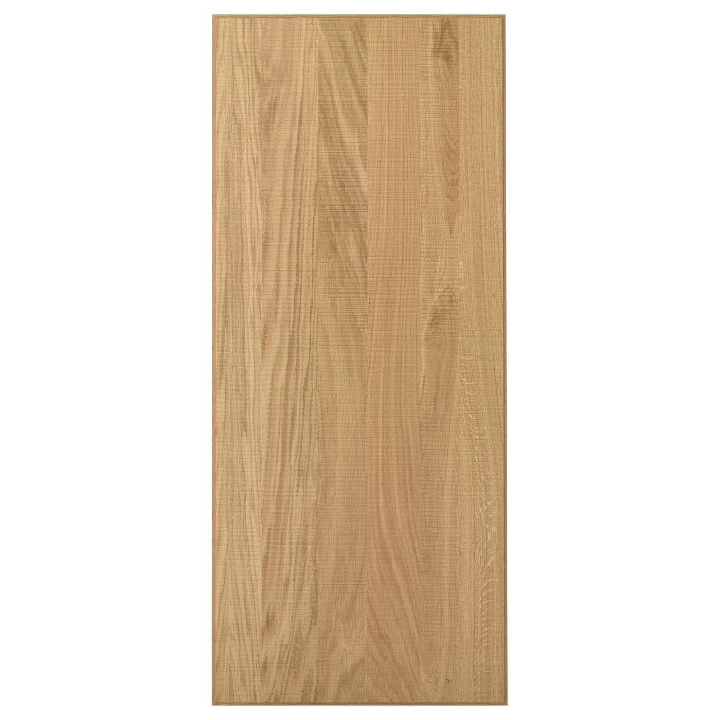 HYTTAN Door Oak veneer 60×140 cm  IKEA -> Kuchnie Ikea Hyttan