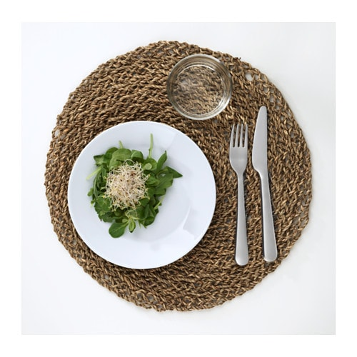 IKEA IHÅLLIG place mat Protects the table top surface and reduces noise from plates and cutlery.