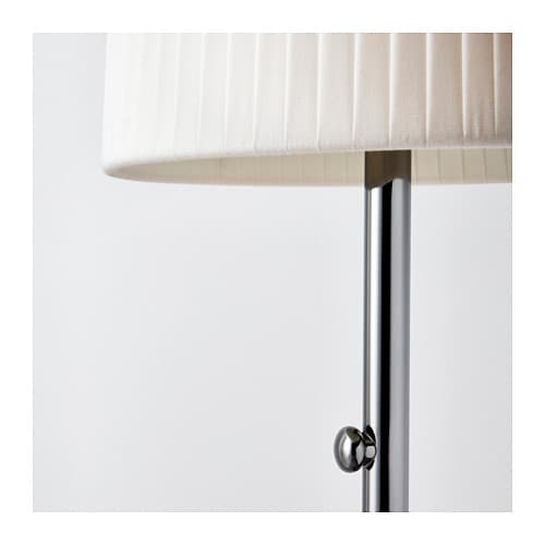 IKEA IKEA 365+ LUNTA floor lamp Diffused light that provides good general light in the room.