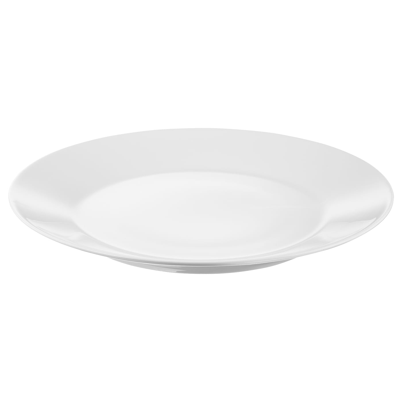 IKEA IKEA 365+ plate Made of feldspar porcelain, which makes the plate impact resistant and durable.