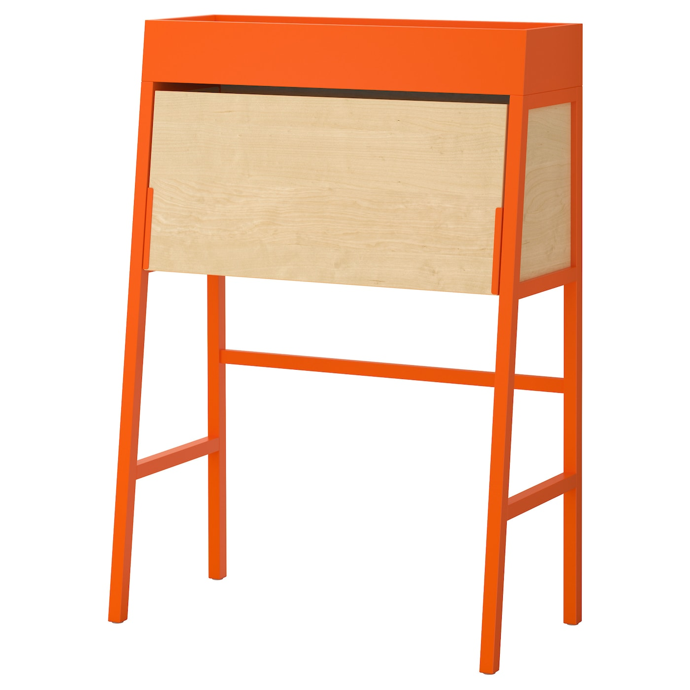 ikea ps 2014 bureau orange birch veneer 90x127 cm ikea. Black Bedroom Furniture Sets. Home Design Ideas