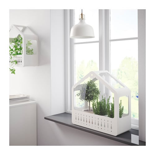 ikea ps 2014 greenhouse in outdoor white ikea. Black Bedroom Furniture Sets. Home Design Ideas