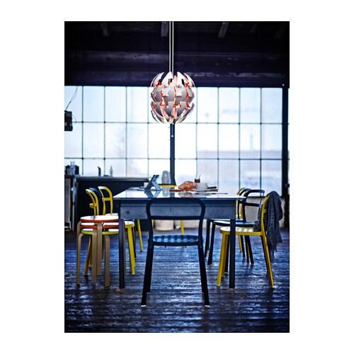 ikea ps 2014 pendant lamp white orange ikea. Black Bedroom Furniture Sets. Home Design Ideas