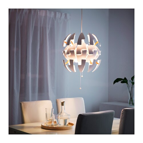 IKEA IKEA PS 2014 pendant lamp Gives decorative patterns on the ceiling and on the wall.