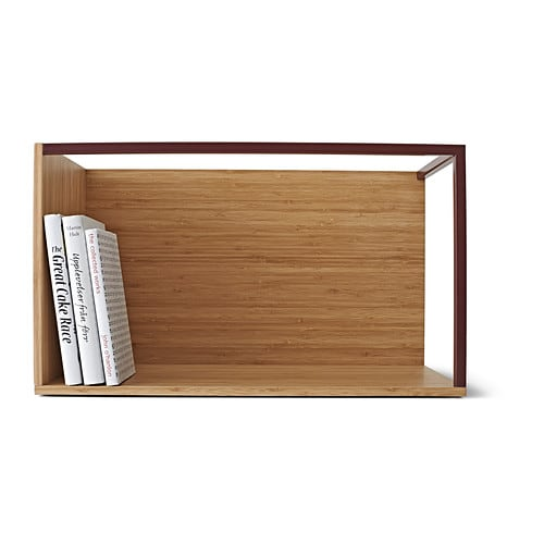 ikea ps 2014 storage module bamboo dark red 60x35 cm ikea. Black Bedroom Furniture Sets. Home Design Ideas