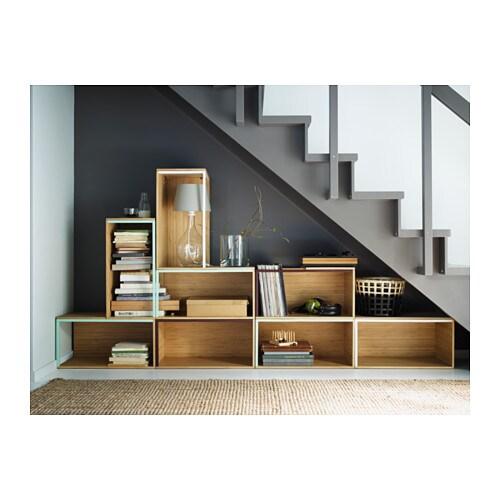 ikea ps 2014 storage module bamboo white 60x35 cm ikea. Black Bedroom Furniture Sets. Home Design Ideas
