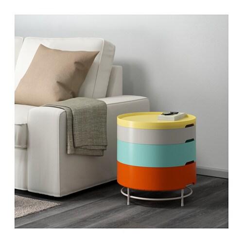 ikea ps 2014 storage table multicolour 44 cm ikea. Black Bedroom Furniture Sets. Home Design Ideas