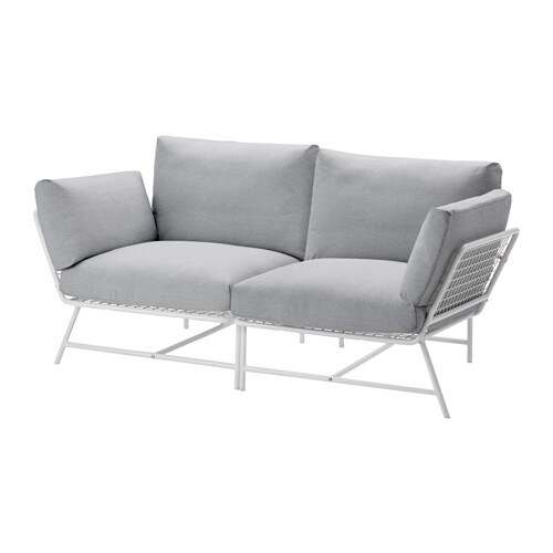 IKEA IKEA PS 2017 2-seat sofa The anti-slip backing keeps the cushions firmly in place.