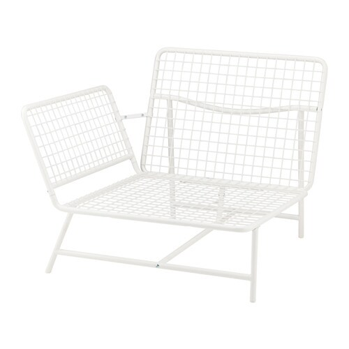 IKEA IKEA PS 2017 corner easy chair You can mount the armrest on the right or left side.