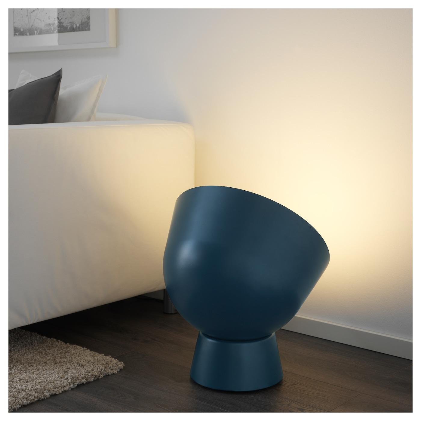 ikea ps 2017 floor lamp dark blue ikea. Black Bedroom Furniture Sets. Home Design Ideas