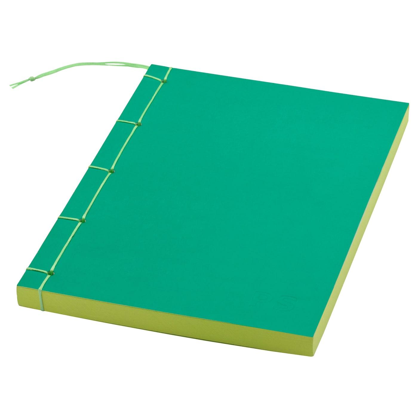 ikea ps 2017 note book green 14x21 cm ikea. Black Bedroom Furniture Sets. Home Design Ideas