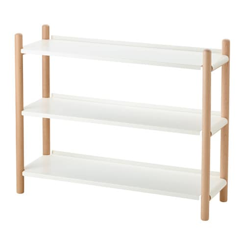 IKEA IKEA PS 2017 shelving unit 3 fixed shelves provide increased stability.