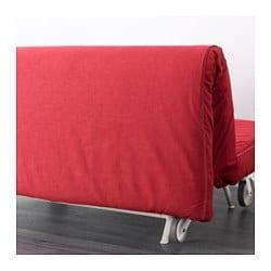 IKEA PS LÖVÅS Two seat sofa bed Vansta red IKEA