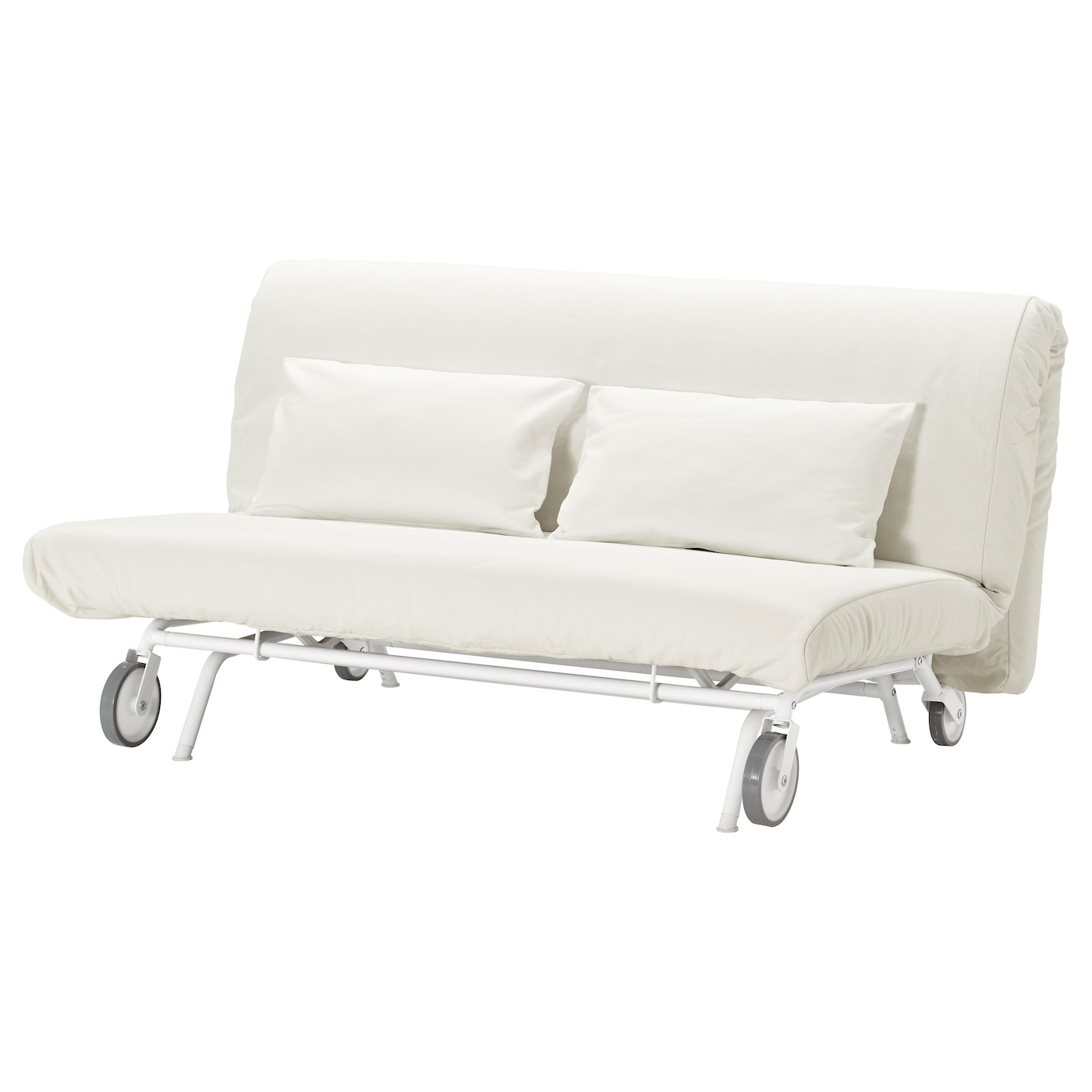Ikea Ps Murbo Two Seat Sofa Bed Grsbo White Ikea - best sofa bed mattress ikea