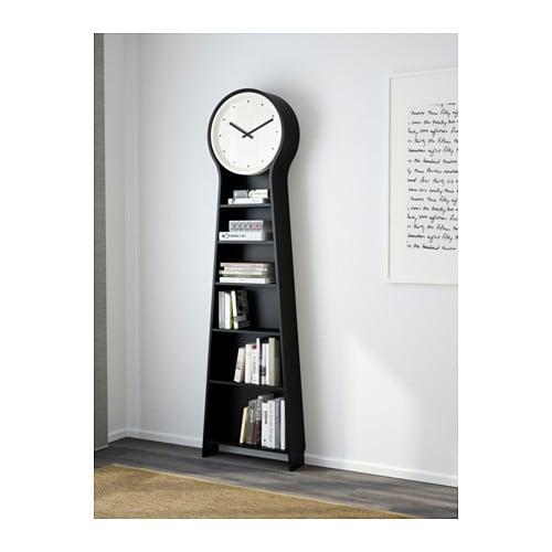 Ikea ps pendel floor clock black 56x198 cm ikea for Ikea horloge