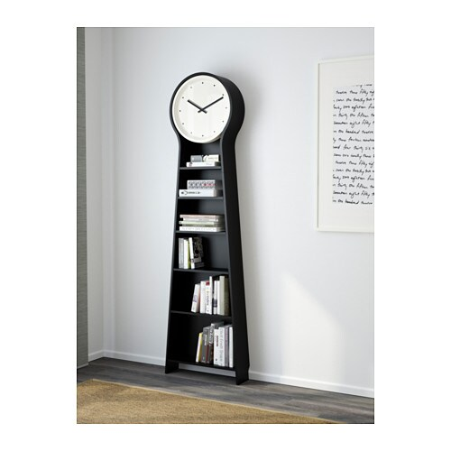 Couronne De Noel A Faire Soi Meme En Bois : IKEA PS PENDEL Floor clock Black 56×198 cm  IKEA