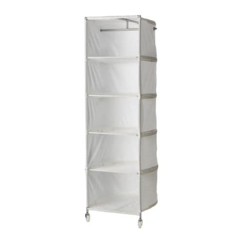 IKEA IKEA PS wardrobe tidy Easy to move since it has three castors and has a handle in the back.