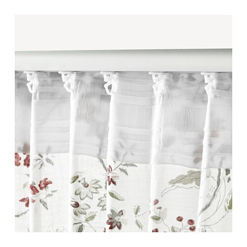 Ingmarie curtains with tie backs 1 pair multicolour for Ikea outdoor curtains